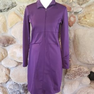 Athleta Cassidy Purple Pointe Dress Small
